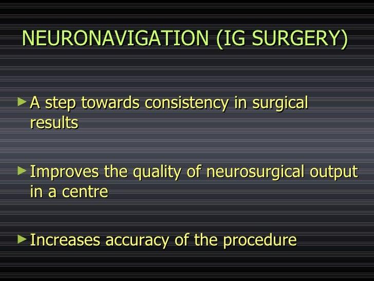 Image guidance in neurosurgery Slide 2