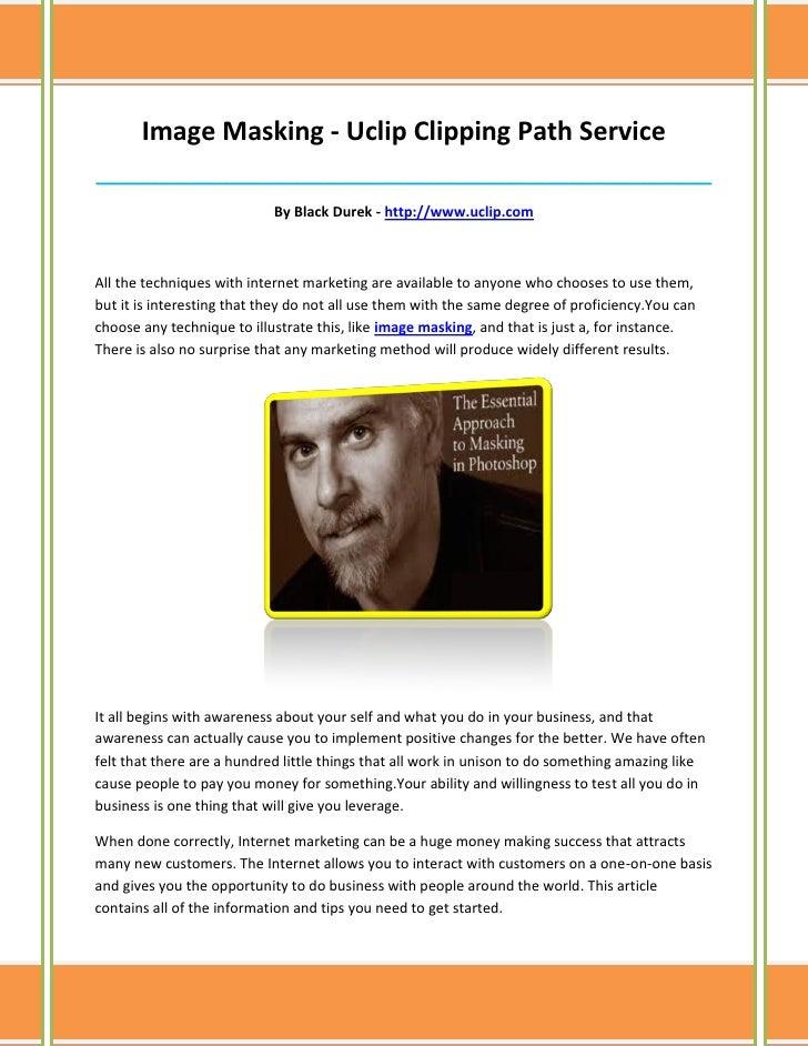 Image Masking - Uclip Clipping Path Service______________________________________________________________________________ ...