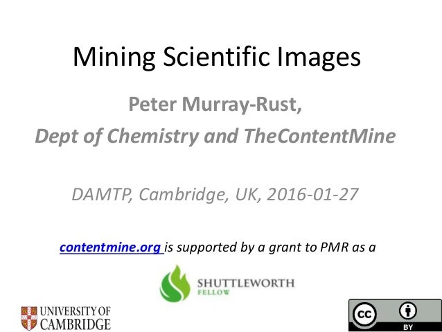 Mining Scientific Diagrams for facts
