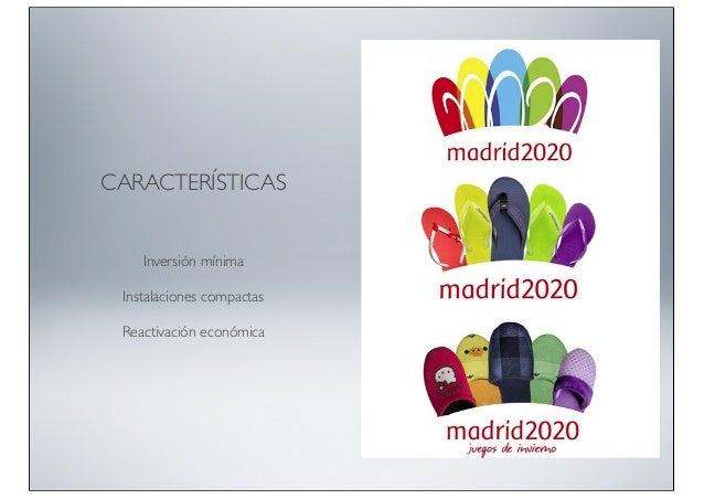 CARACTERÍSTICAS  Inversión mínima Instalaciones compactas Reactivación económica