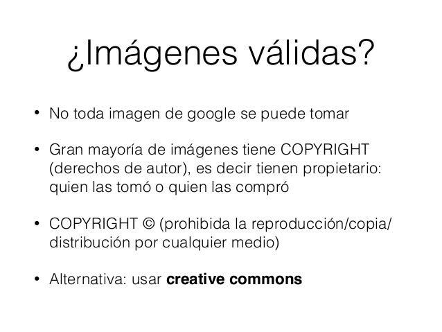 Imágenes cc Slide 2