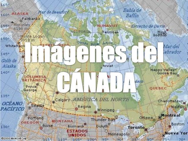Imagenes del Cánada