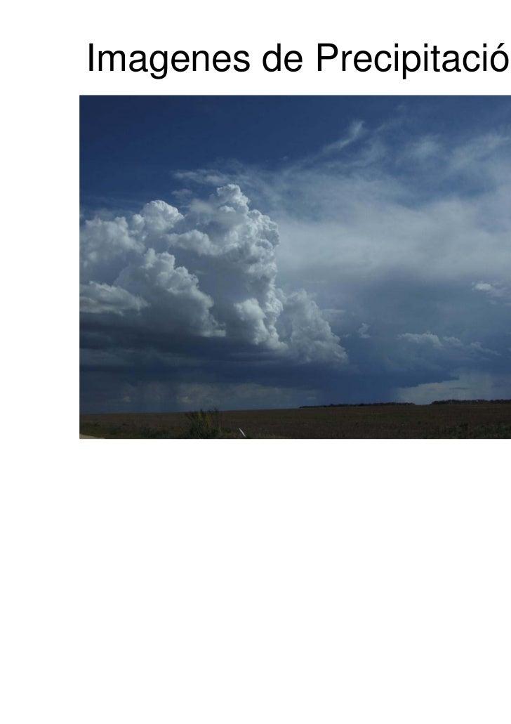 Imagenes de Precipitación