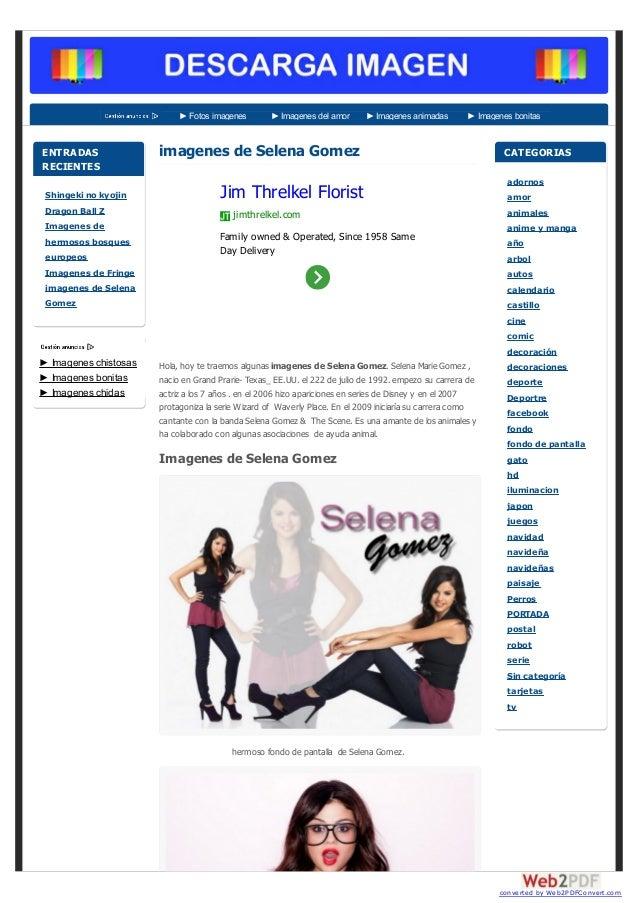 ► Fotos imagenes ► Imagenes del amor ► Imagenes animadas ► Imagenes bonitas imagenes de Selena Gomez Hola, hoy te traemos ...