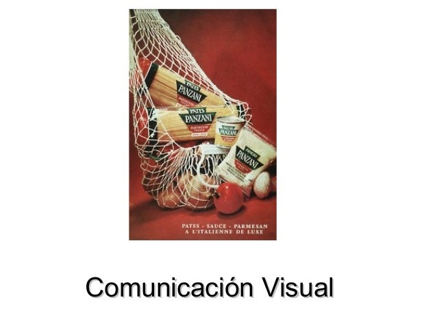 Comunicación VisualComunicación Visual