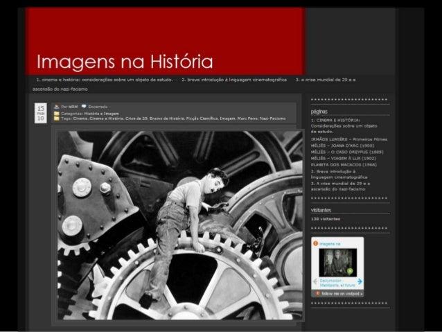 1826 - FOTOGRAFIA - NIÈPCE1895 - CINEMA - IRMÃOS LUMIÈRE1923 - PRIMEIRAS EMISSORAS DE TV. (experimentais)1940 - TELEVISÃO ...