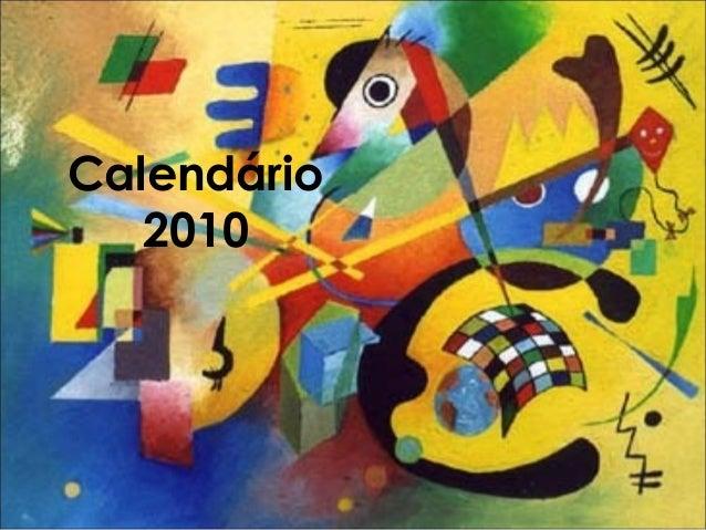 Calendário 2010