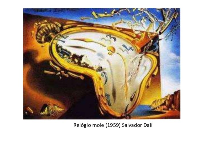 Relógio mole (1959) Salvador Dalí