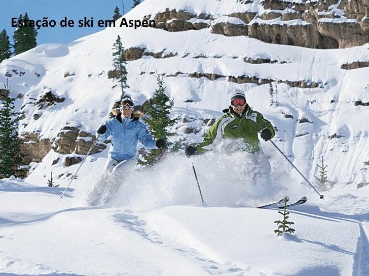 Estação de ski em Aspen
