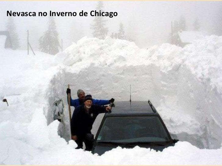 Nevasca no Inverno de Chicago