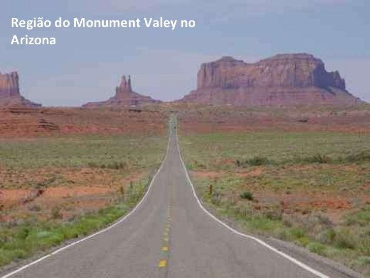 Região do Monument Valey no Arizona