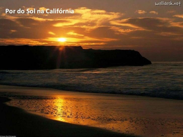 Por do Sol na Califórnia