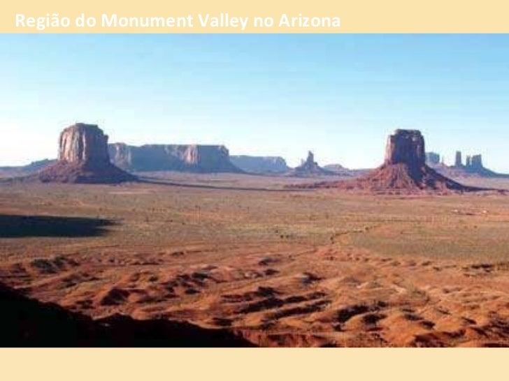 Região do Monument Valley no Arizona