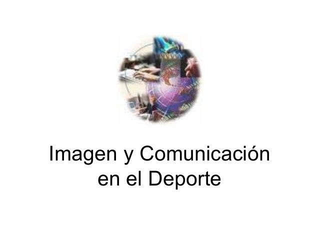 Imagen y Comunicación en el Deporte