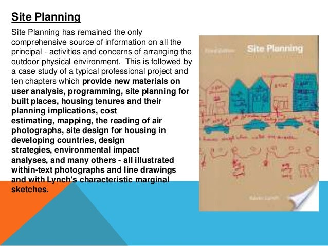 Image of the city – Site Planning Kevin Lynch