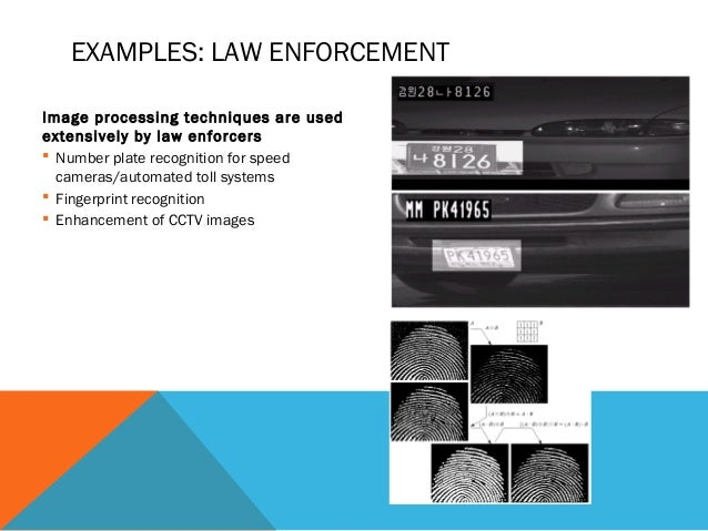 finger print recognition and image enhancement
