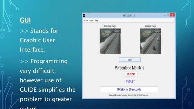 Final Project presentation on Image processing based intelligent traf…