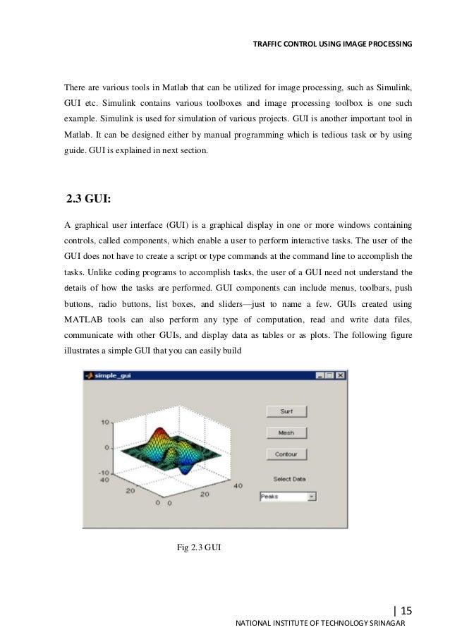 traffic control system project pdf