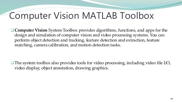 Fundamentals of Image Processing & Computer Vision with MATLAB