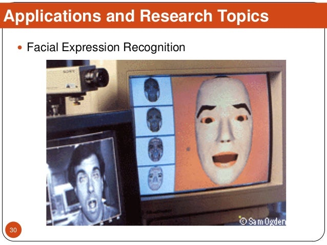  Facial Expression Recognition Applications and Research Topics 30