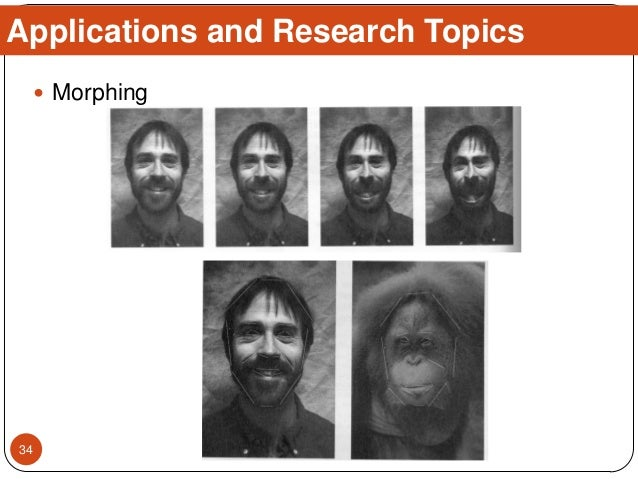  Morphing Applications and Research Topics 34