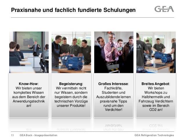 GEA Refrigeration TechnologiesGEA Bock - ImagepräsentationPraxisnahe und fachlich fundierte SchulungenBegeisterung:Wir ver...