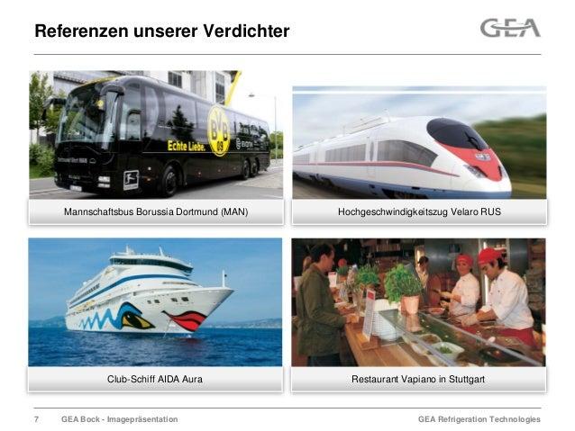 GEA Refrigeration TechnologiesGEA Bock - ImagepräsentationReferenzen unserer VerdichterHochgeschwindigkeitszug Velaro RUSM...