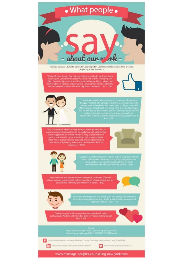What People Say About Our Work Marriage Couples Counselling And Lif