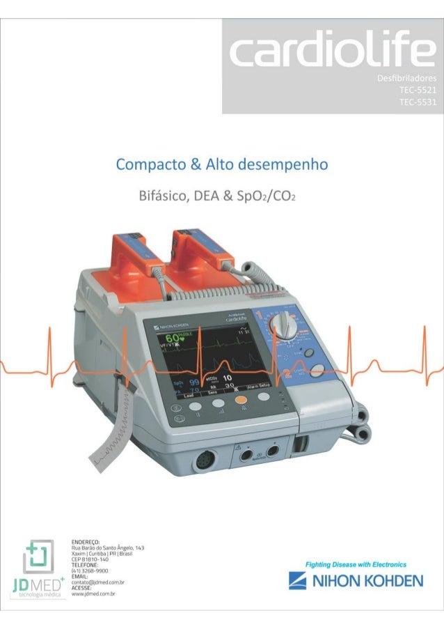 Desfibrilador/Cardioversor Cardiolife