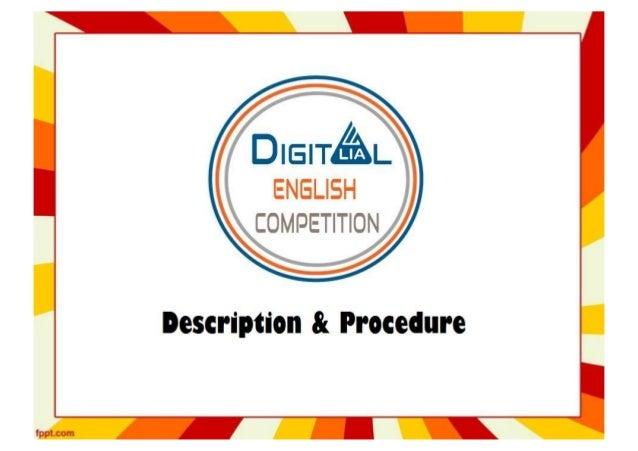 Description & Procedure DIY Video Competition