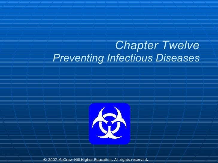 Chapter Twelve Preventing Infectious Diseases