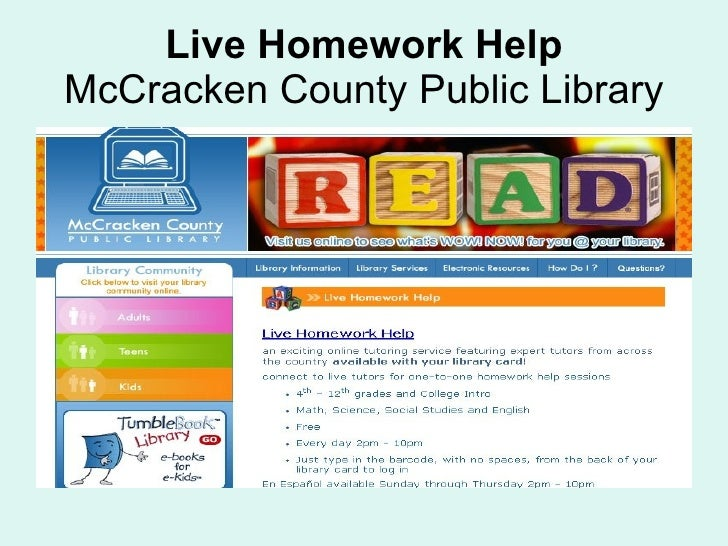 La county live homework help