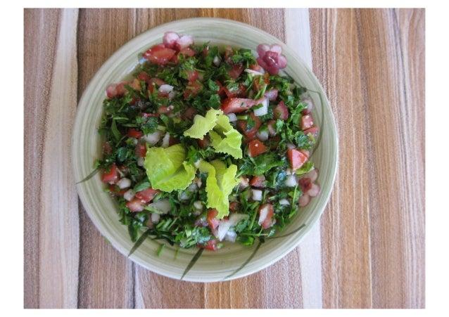 Taboulé Libanais ( la vrai recette)