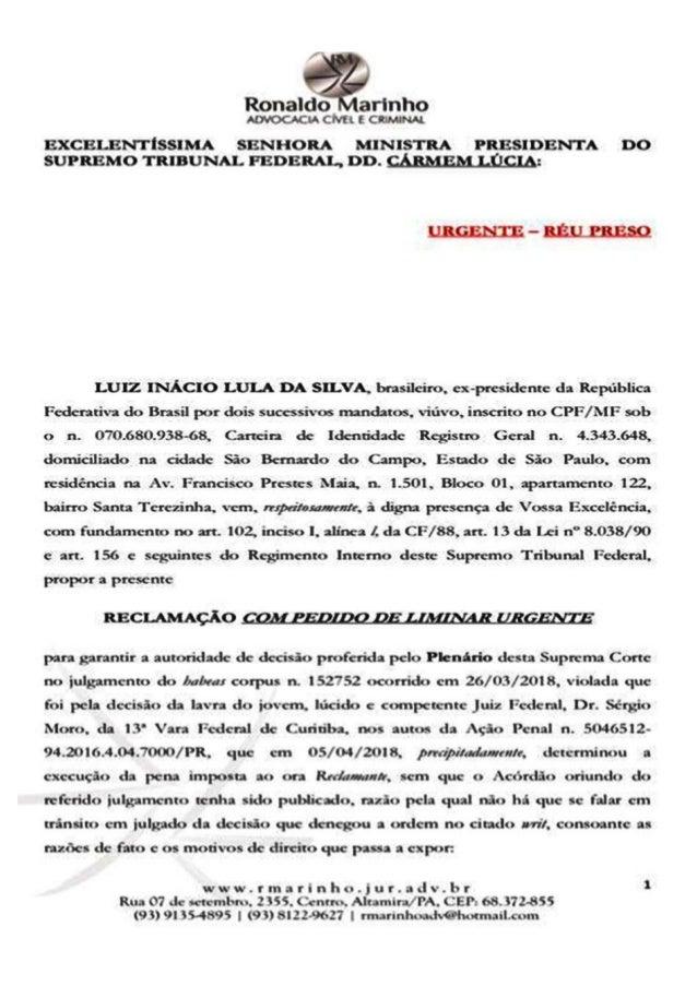 Advogado de Altamira no Pará pode cassar decisão do Juiz Sérgio Moro