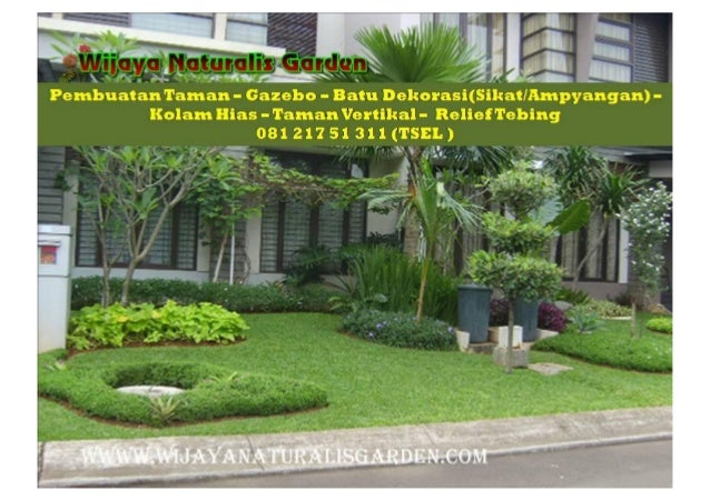 CALL 081 217 51 311  ( TSEL ) Kontraktor Taman Banyuwangi