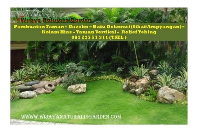 CALL 081 217 51 311  ( TSEL ) Kontraktor Taman Banyuwangi Slide 2