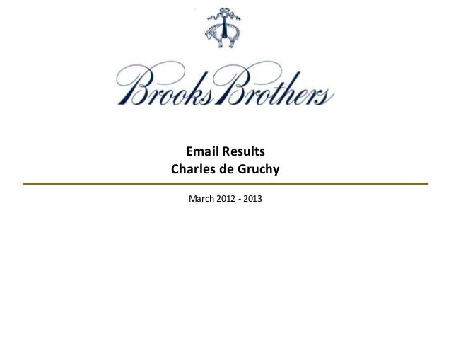Email Results Charles de Gruchy March 2012 - 2013