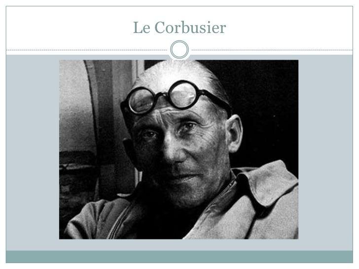 Le Corbusier<br />