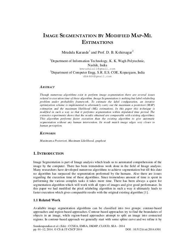 Sundarapandian et al. (Eds) : CCSEA, EMSA, DKMP, CLOUD, SEA - 2014 pp. 01–12, 2014. © CS & IT-CSCP 2014 DOI : 10.5121/csit...