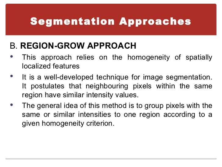 an approach for the segmentation of How to effectively segment your  determine which target group you want to approach with a specific message based on your marketing strategy you apply segmentation .