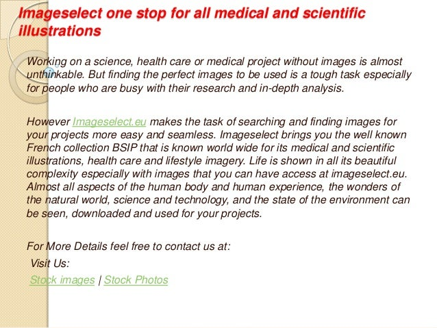 Imageselect one stop for all medical and scientific illustrations Working on a science, health care or medical project wit...