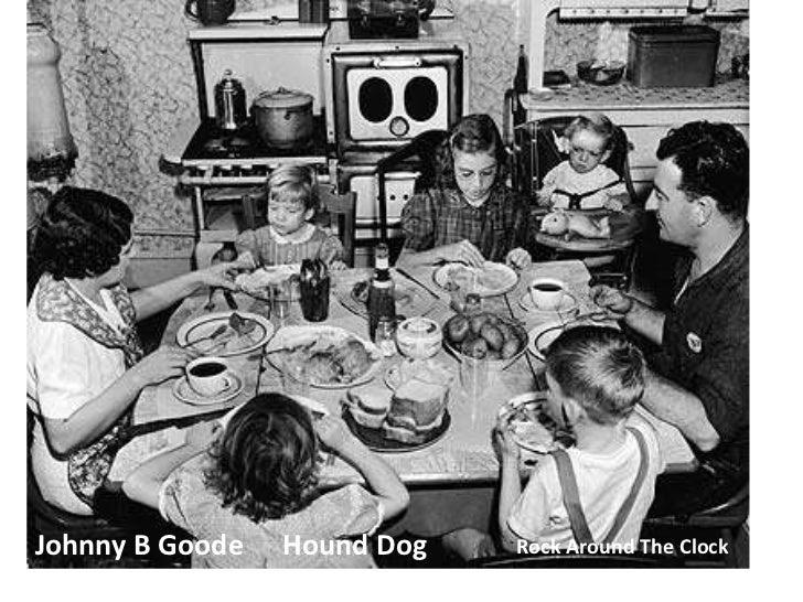 Johnny B Goode<br />Hound Dog<br />Rock Around The Clock<br />