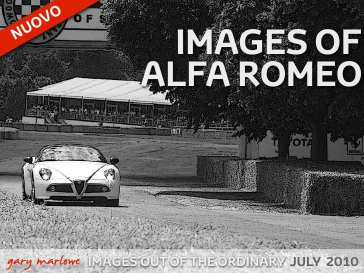 OVO       U      N                        IMAGES OF                       ALFA ROMEO    !        gary marlowe IMAGES OUT O...