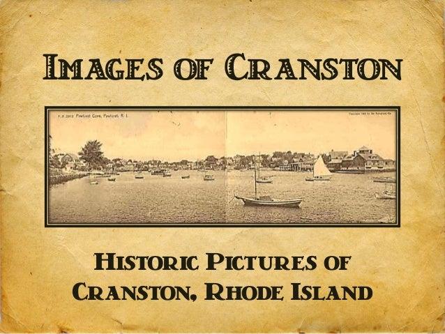 Images of Cranston  Historic Pictures of Cranston, Rhode Island