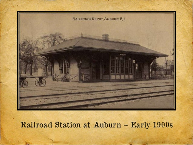 Railroad Station at Auburn – Early 1900s
