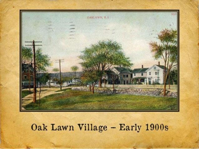 Oak Lawn Village – Early 1900s