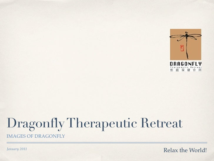 Dragonfly Therapeutic RetreatIMAGES OF DRAGONFLYJanuary 2011                         Relax the World!