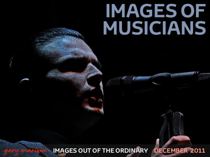 IMAGES OF                               MUSICIANS