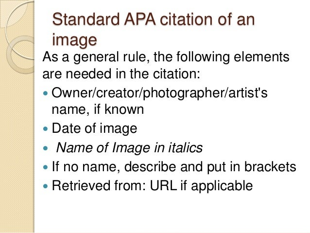 6 standard apa citation