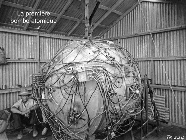 La première bombe atomique